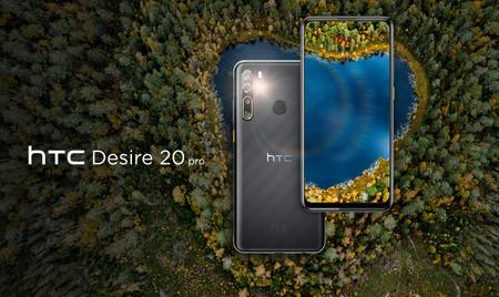 El HTC Desire 20 Pro llega a España: precio y disponibilidad oficiales del último gama media de HTC con 5.000 mAh de batería