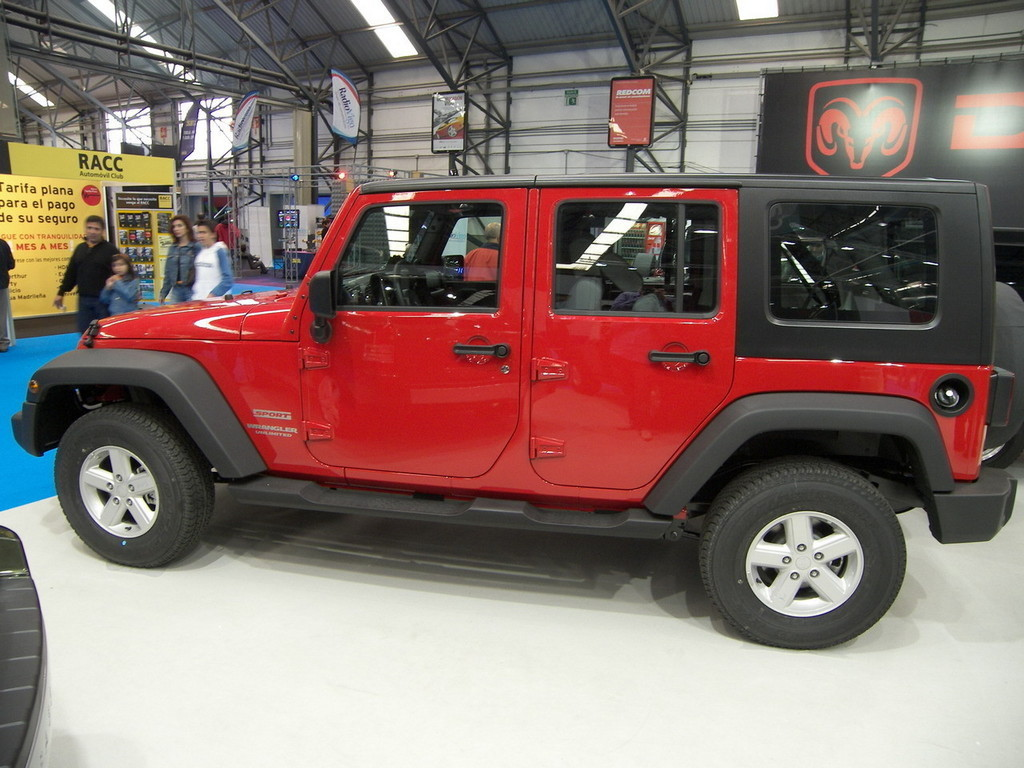 Foto de Jeep Wrangler Unlimited en el Salón de Vigo (1/19)