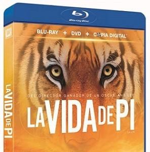 'La vida de Pi' llega en dvd y blu-ray