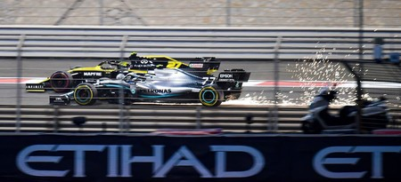 Bottas Hulkenberg Abu Dabi F1 2019