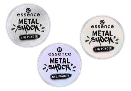 Essence Awesometallics Metal Shock Nail Powder