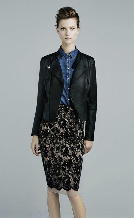 Encaje Zara lookbook noviembre