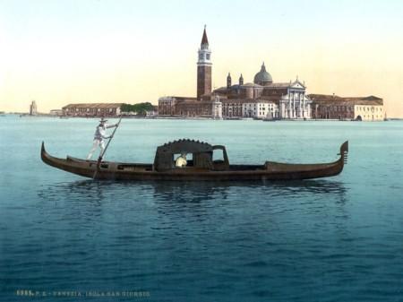 Las Gondolas Llevan Viviendo En Venecia Siglos