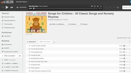 La playlist de Deezer especialmente pensada para ayudar a descansar a los niños