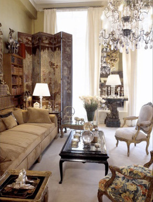 Otra vista del apartamento de Coco Chanel.