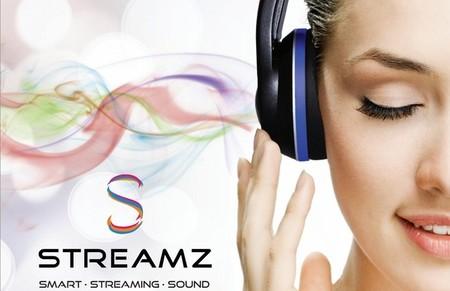 Streamz, auriculares con WiFi, Bluetooth, reproductor y DAC integrado