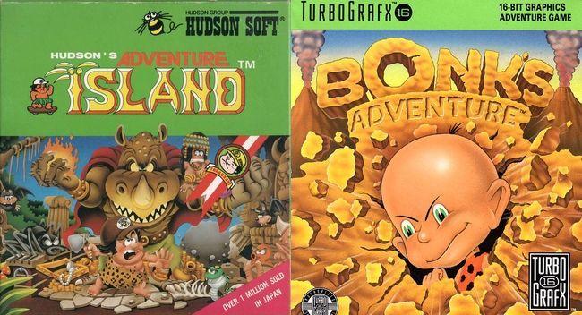 Adventure Island y Bonk's Adventures