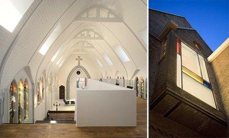 Casas poco convencionales: iglesias convertidas en hogares