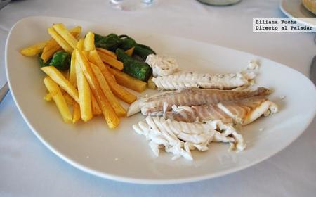 Restaurante Porto Chico. Dorada a la sal