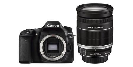 Canon Eos 80d Con 18 200