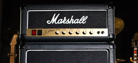 Marshall Fridge, un pequeño refrigerador en forma de amplificador de guitarra