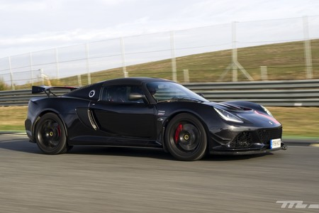 Lotus Exige 380 Sport lateral marcha