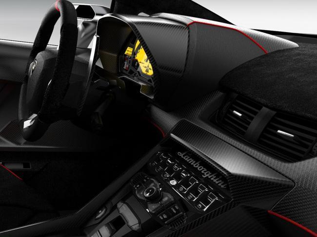 Lamborghini Veneno interior