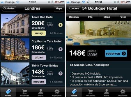 ReallyLateBooking amplía su oferta de reservas desde el iPhone con nuevos países y más hoteles