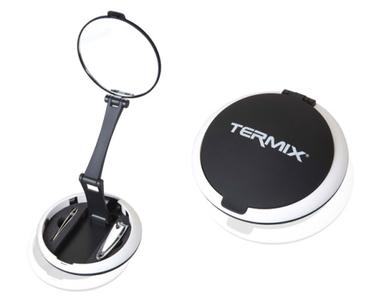 Espejo Termix Nano con pinza depilar y cortauñas, en el bolso o como espejo de pie. Mi experiencia