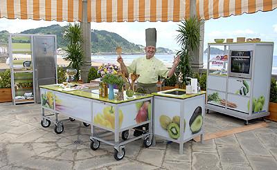 Cocinas de verano de Karlos Arguiñano: ¿cuál te gusta más?