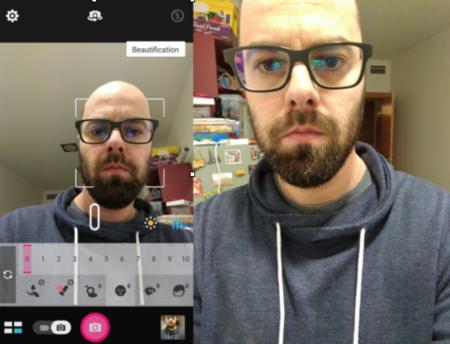 Selfie mode Zenfone 3 Deluxe