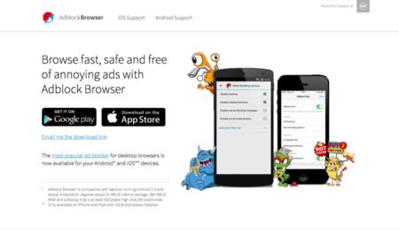 Adblock Browser, el terror de los anuncios móviles ya está (ahora en serio) aquí
