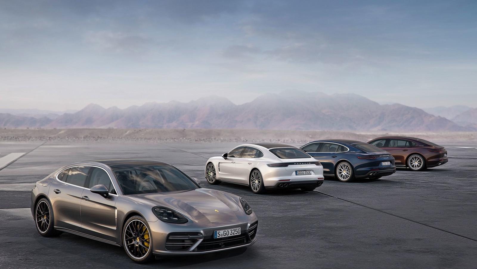 Foto de Porsche Panamera Executive 2017 (1/29)
