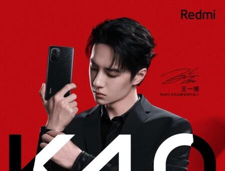Xiaomi muestra la primera imagen oficial de los Redmi K40 en su edición 'Black Edition'