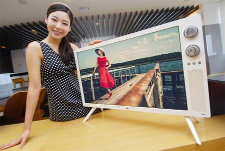LG apuesta por un diseño retro para sus televisores