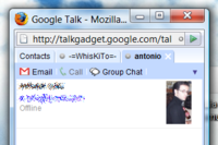 Google Talk Gadget añade chats con grupos