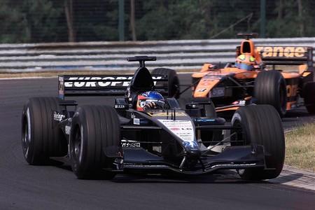 Alonso Hungria F1 2001