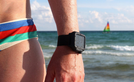 El Apple Watch también en la playa: utiliza una correa para hacerlo sumergible