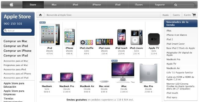 apple store web