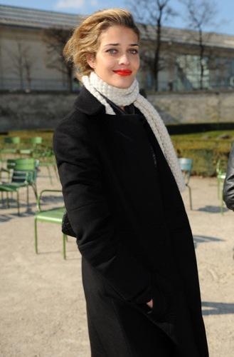 Todas las famosas y modelos en la Semana de la Moda de París, Anna Beatriz Barros