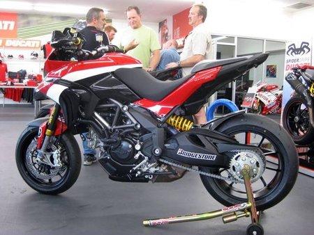Ducati Multistrada 1200 versión Pikes Peak