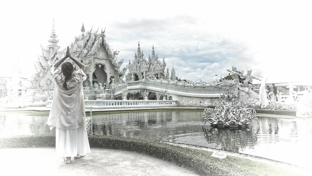 El templo Blanco de Tailandia. Vídeos inspiradores