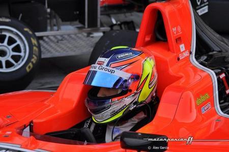 Tio Ellinas es el piloto elegido por Marussia para los tests de jóvenes pilotos