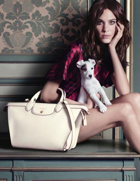 Alexa Chung y Longchamp, la relación continúa en su campaña Otoño-Invierno 2014/2015