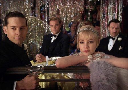 Tobey Maguire, Leonardo Di Caprio y Carey Mulligan en