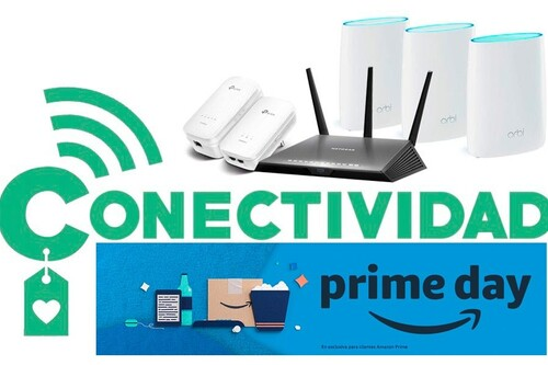 Amazon Prime Day 2020: las mejores ofertas en convectividad. Routers, sistemas en malla y extensores de red a precios rebajados