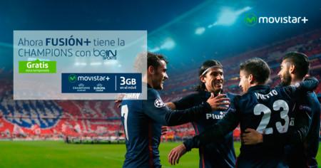 La Champions League gratis para todos los clientes de Movistar Fusión+