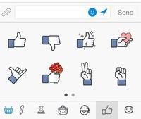 """""""No me Gusta"""" llega a Facebook, pero en forma de sticker para Messenger"""