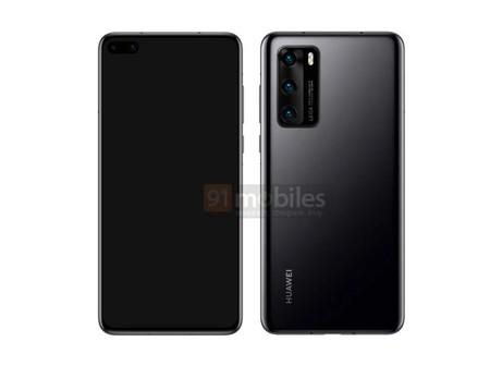 Huawei P40 se filtra desde todos sus ángulos: agujero en la pantalla, gran módulo fotográfico y sin jack para audífonos