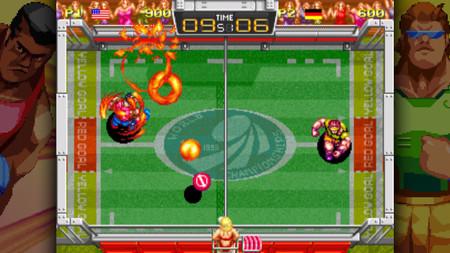 El clásico Windjammers volverá a la vida el 29 de agosto en PS4 y PS Vita