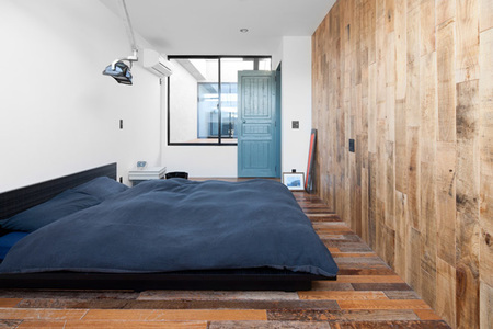 casa skater - dormitorio