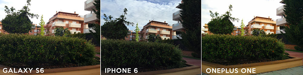 Comparativa fotográfica: Galaxy S6, iPhone 6 y OnePlus One