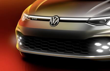 El nuevo Volkswagen Golf GTD se asoma y su boceto nos adelanta también el rostro del GTI