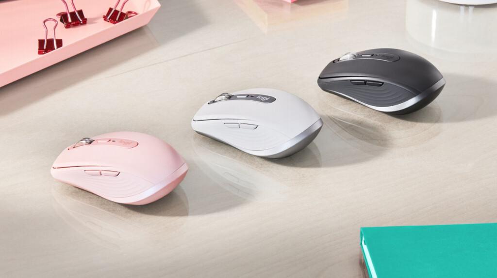 Logitech MX Anywhere 3: el ratón de productividad por excelencia de Logitech se renueva con scroll ajustable y grip de silicona