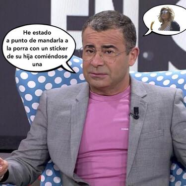 María Teresa Campos y su particular forma de pedir perdón a Jorge Javier Vázquez: por WhatsApp