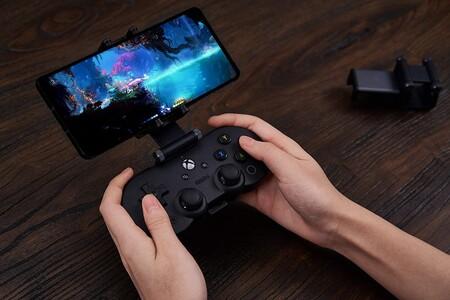 Control 8BitDo para jugar Xbox One en la nube con Project xCloud en México