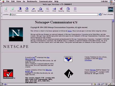El acuerdo del Brexit promete el uso de software moderno y menciona Netscape Navigator 4.0 como ejemplo