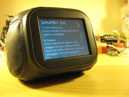 Disponibles las primeras unidades del Chumby