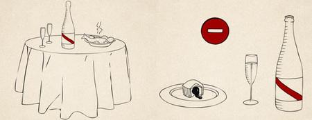 Protocolo del champán - cómo servir - 4