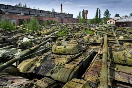 Cementerio Tanques Ucrania